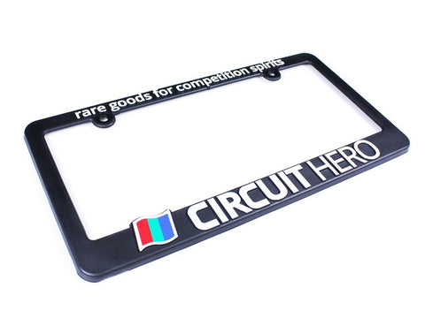 Circuit Hero License Plate Frame