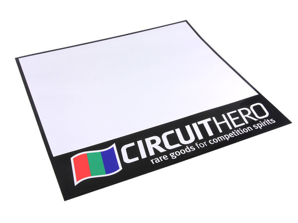 Circuit Hero Track Number Door Plate Decals (Pair)
