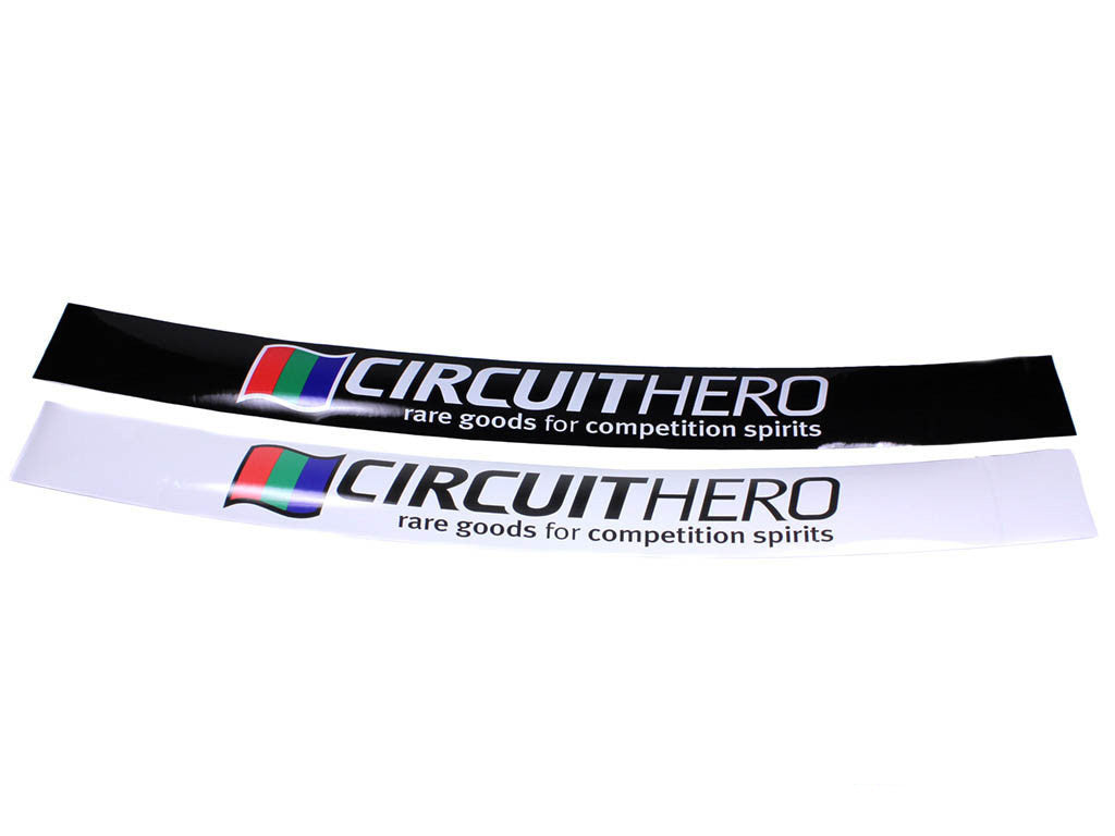 Circuit Hero Curved Track Windshield Banner