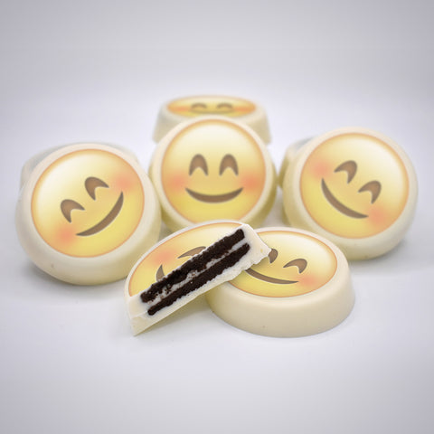 Chocolate Covered OREO® with Emoji Themes