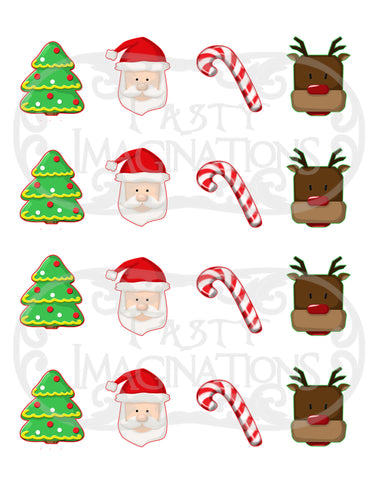 Cookies for Santa Template
