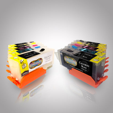 Edible Ink Cartridges and Cleaning Cartridges Combo