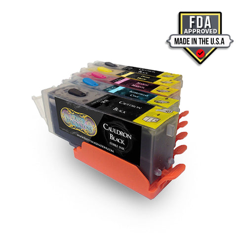 Edible Ink Cartridges for Canon Printers (5-Pack)