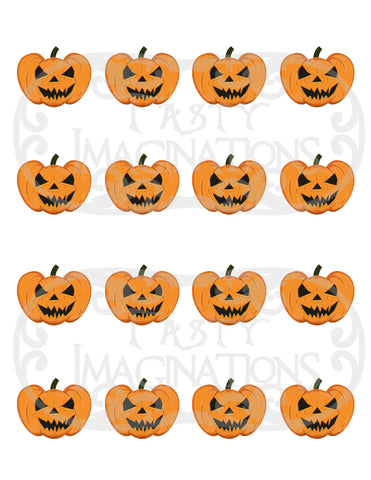 Psychotic Pumpkins Template