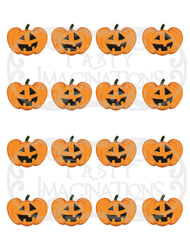 Happy Pumpkins Template