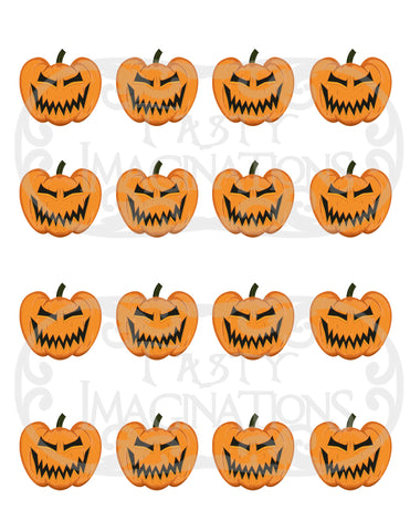 Evil Pumpkins Template