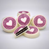 Chocolate Covered OREO® with Valentines Day Themes