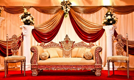 4 indian wedding themes every south asian bride ought to know red gold junglespirit Choice Image
