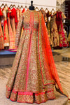 Dori/Sequins Lacha with Banarsi Lengha