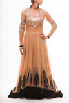 Rose Gold Lacha With Back Trail