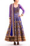 Royal Blue Anarkali