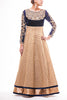 Midnight - Beige Banarsi Anarkali
