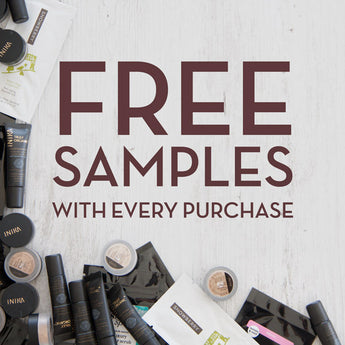 FREE samples with every purchase