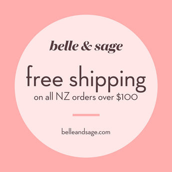 FREE SHIPPING ON ALL NZ ORDERS OVER $100