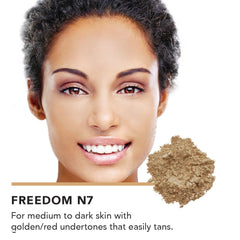 Inika Colour Match Mineral Foundation Freedom