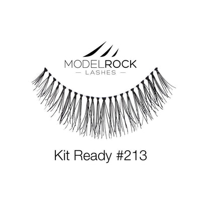 Model Rock Lashes Kit Ready #213
