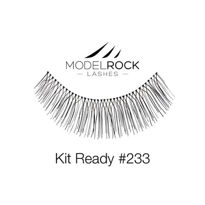 Model Rock Lashes Kit Ready #233
