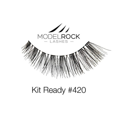Model Rock Lashes Kit Ready #420