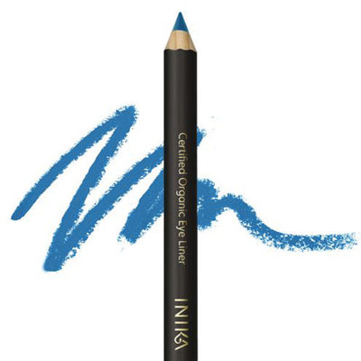 Inika certified organic eye pencil Peacock Blue