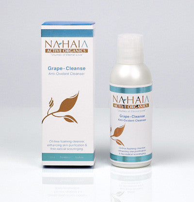 Nahaia Grape-Cleanse Foaming Anti-Oxidant Cleanser