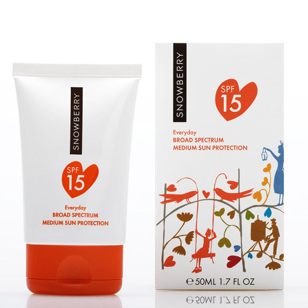 Snowberry Everyday SPF 15 Sunscreen