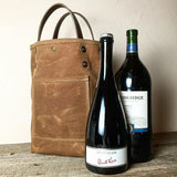 Waxed Canvas Beverage Tote - Homegoods - Maycomb Mercantile - 1
