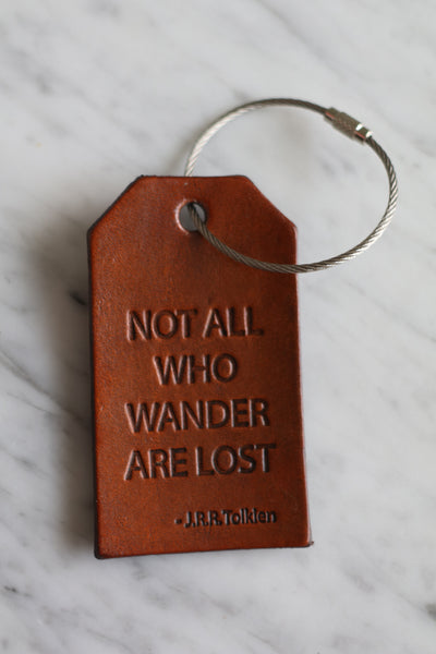 Adventurer Luggage Tag