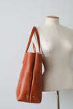 The Scout Classic Leather Tote - British Tan