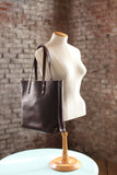 The Scout Classic Leather Tote - Chocolate Horween Chromexcel - Bag - Maycomb Mercantile - 2