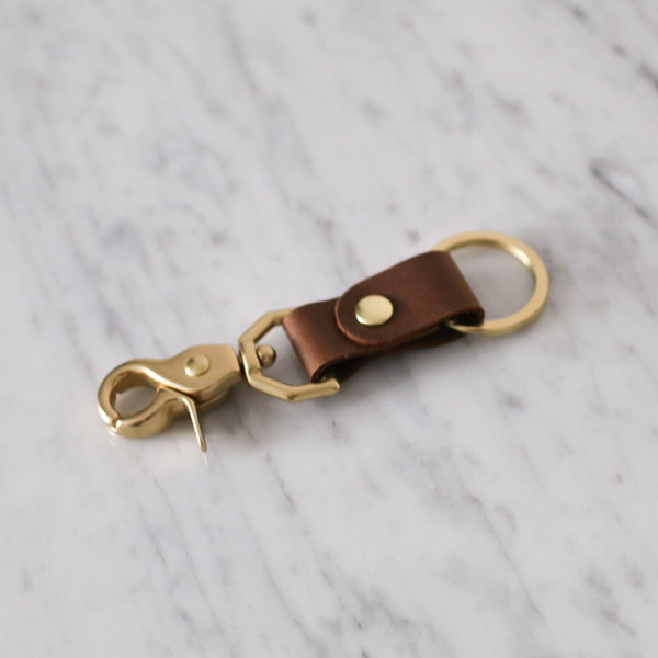 Classic Leather Key Chain