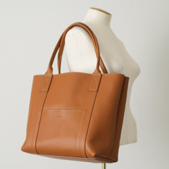 The 'Ready Made' Grace Classic Leather Tote Bag - Fairfax Tan