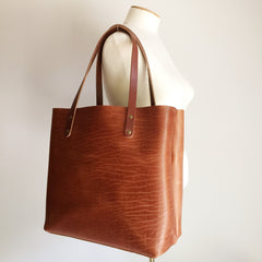 The Scout 2.0 Leather Tote - Buffalo Tan
