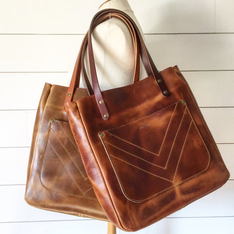Limited Edition Market Tote - Golden Tan