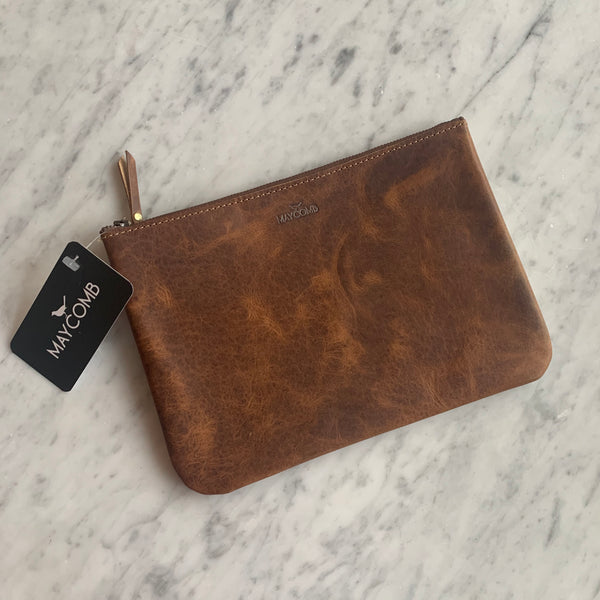 The Classic Leather Pouch
