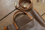 The Alex Leather Tote - Olive Tan - Bag - Maycomb Mercantile - 11