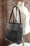 The Jayne Waxed Canvas and Leather Tote - Bag - Maycomb Mercantile - 7