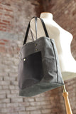 The Jayne Waxed Canvas and Leather Tote - Bag - Maycomb Mercantile - 8