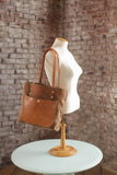 The Jayne Waxed Canvas and Leather Tote - Bag - Maycomb Mercantile - 9