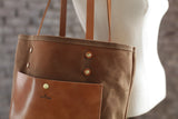 The Jayne Waxed Canvas and Leather Tote - Bag - Maycomb Mercantile - 10