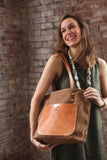 The Jayne Waxed Canvas and Leather Tote - Bag - Maycomb Mercantile - 14