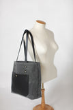 The Jayne Waxed Canvas and Leather Tote - Bag - Maycomb Mercantile - 21