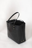 The Scout Classic Leather Tote - Black - Bag - Maycomb Mercantile - 10