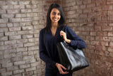 The Scout Classic Leather Tote - Black - Bag - Maycomb Mercantile - 5