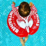swimtrainer red best float for baby learn to swim toddler swim ring
