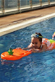 swimtrainer orange toddler swim ring baby float swimming lessons