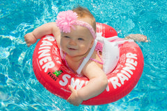 baby swim ring toddler swimming float inflatable floatie swimming lessons