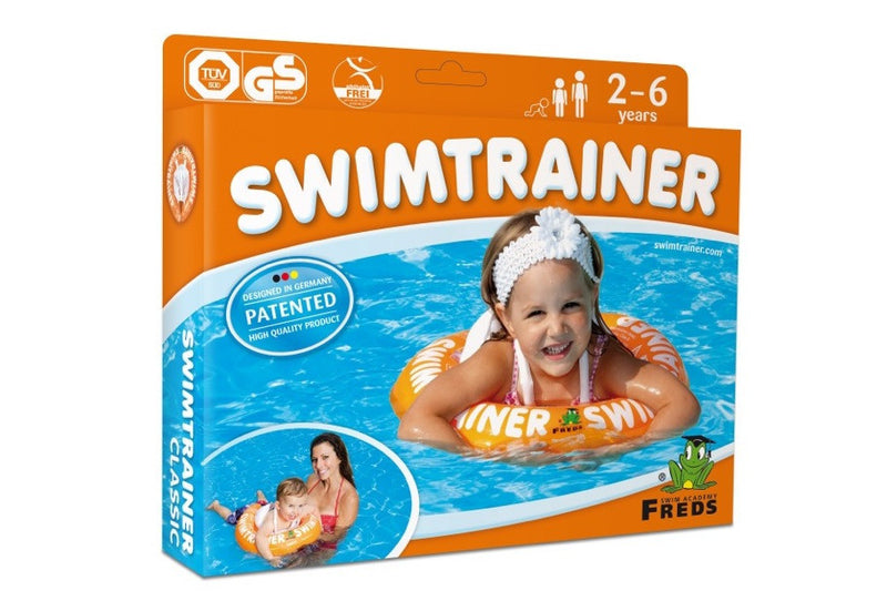swimtrainer orange learn to swim floatie