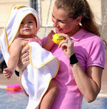 Fred and Gina Hooded Towel