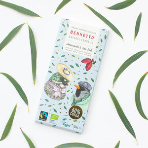 Fair Trade, Vegan, Gluten-Free Chocolate by Bennetto, Songbird Australia