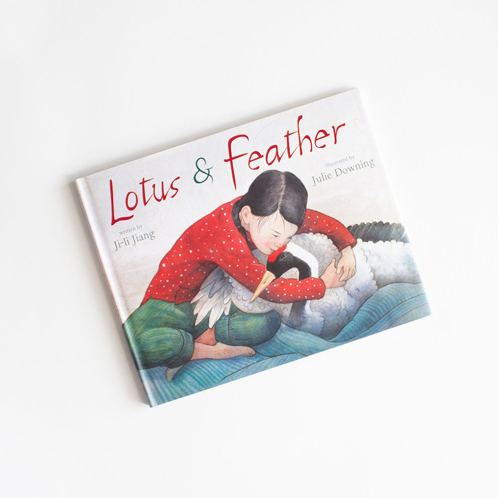 Lotus & Feather by Ji-Li Jiang, Gifts for Bird Lovers, Songbird Collection Australia